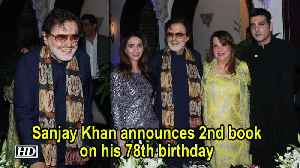 Sanjay Khan announces 2nd book on his 78th birthday [Video]