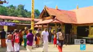 A historic day for women's rights in India: Women enter Sabarimala Temple for the first time [Video]