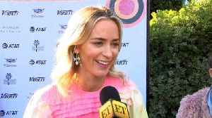 Emily Blunt Says Her Kids Would Be 'Much Better' Actors (Exclusive) [Video]