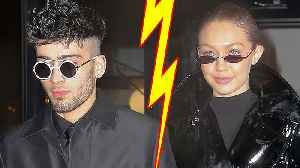 Gigi Hadid & Zayn Malik Officially BREAKUP! [Video]