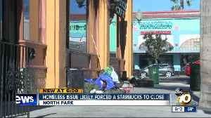 Homeless issue likely forces Starbucks closure [Video]