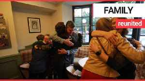 Family reunited after winning a competition [Video]