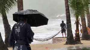 Tropical Storm Pabuk Hits Thai Tourist Islands [Video]