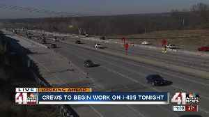 Replacement of 53-year-old bridge bearings to close part of I-435 in Missouri [Video]