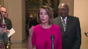 Pelosi calls Trump's wall an 'immorality' [Video]