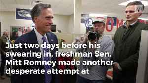 Don't Let Mitt Romney Fool You, He's a Bitter Opportunist [Video]