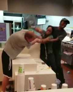 Fast Food Worker Assaulted over Straw [Video]