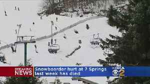Snowboarder Hurt At Seven Springs Dies From Head Injuries [Video]