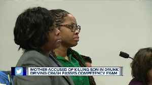 Mother accused of killing son in drunk driving crash passes competency exam [Video]