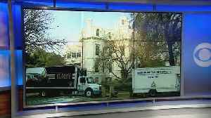 Moving Trucks Show Up Outside Governor's Mansion As Jerry Brown Prepares To Leave [Video]