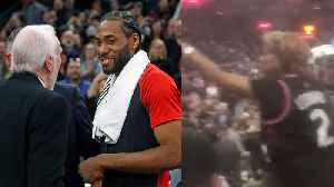 Kawhi Leonard BOOED & Called TRAITOR in San Antonio! His MOM Came To His Defense FIGHTING With Fans! [Video]