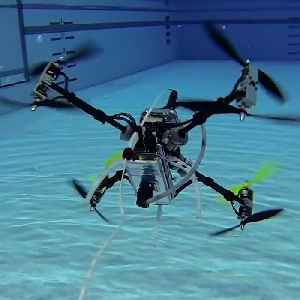 This drone can fly in the air and underwater [Video]