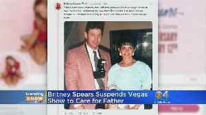 Trending: Britney Spears Takes Break To Take Care Of Dad [Video]