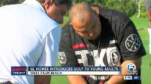 GL Homes, Legal Aid Society introduce golf to disadvantaged young adults [Video]