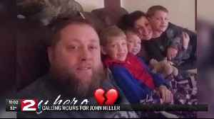 Loved ones pay respects to fallen former firefighter in Oneonta [Video]