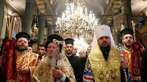 Ukraine's Orthodox church granted independence by Ecumenical Patriarch [Video]