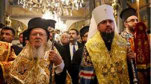 Spiritual Leader Of Orthodox Christians Grants Ukraine Church Independence [Video]