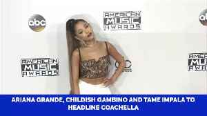Who Are The Hot Headliners For This Years Coachella [Video]