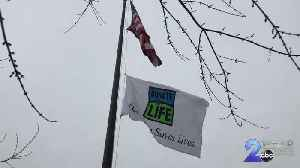 Raising of Donate Life Flag marks five-year anniversary of life-saving gift [Video]