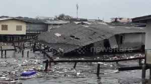 Tropical storm devastates parts of eastern Thailand [Video]