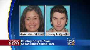 Greensburg Police: Missing Couple Found Safe [Video]