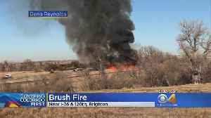 Brush Fire In Adams County Closes I-76 For A While [Video]