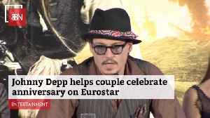 Johnny Depp Surprises A Family With A Great Anniversary Moment [Video]