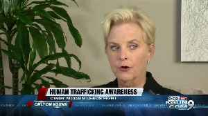 Cindy McCain fighting human trafficking [Video]