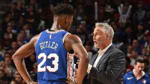 Report: Jimmy Butler challenging Brown over role on 76ers [Video]