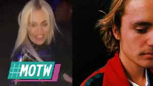 Tristan IGNORES Khloe Kardashian During NYE 2019 Party! Justin Bieber Reveals Face Tattoo! | MOTW [Video]