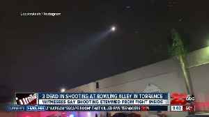 Three people dead in shooting at bowling alley in Torrance [Video]