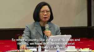 Taiwan urges international support against China [Video]