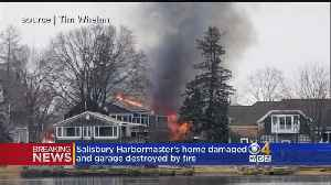 Salisbury Harbormaster's Home Heavily Damaged By Fire [Video]
