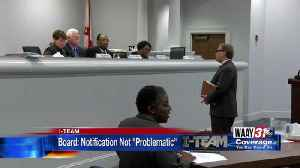 Alabama's Parole Board Says Notifications are