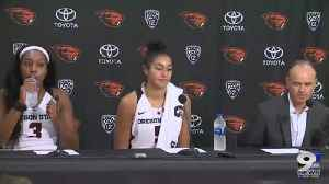 Web Extra: Oregon State women's basketball team on win over Washington State (1/4/19) [Video]