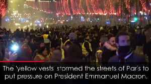 Riot police launch tear gas at Yellow Vest protest in France [Video]