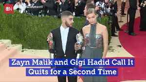 Gigi Hadid And Zayn Malik Are In Splitsville Again [Video]