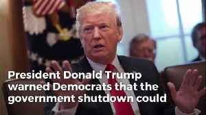 Trump Threatens Gov't Shutdown Could Last Years: 'We're Not Playing Games' [Video]