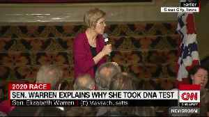 Elizabeth Warren admits she's a white woman [Video]