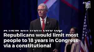 News video: GOP Congressional Members Introduce Constitutional Amendment To Enact Term Limits