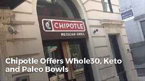 Chipotle Adds New Healthy Dishes To The Menu [Video]