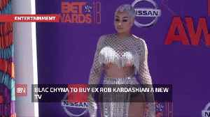 Blac Chyna Will Replace Rob Kardashian's Expensive TV [Video]