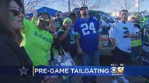Cowboys, Seahawks Fans Bring Own Thunder While Tailgating [Video]