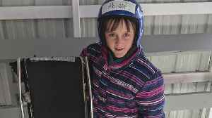 11-Year-Old Excels At Luge, Hopes To Train For Olympics [Video]