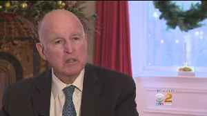 'We Need To Make A Change:' Gov. Jerry Brown Warns Of Climate Change Risks As He Prepares To Leave Office [Video]