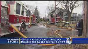 Historic Home In Salisbury Heavily Damaged By Fire [Video]