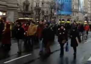 Hungarians Take to Budapest Streets to Protest 'Slave Law' [Video]