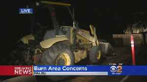Concerns Mount In Burn Areas As Heavy Rainfall His SoCal [Video]