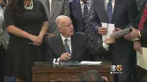 Outgoing CA Governor Jerry Brown Talks About His Achievements [Video]