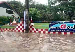 Tropical Storm Pabuk Causes Flooding in Thai Tourist Spot [Video]